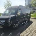 Микроавтобус Микроавтобус VIP черного цвета